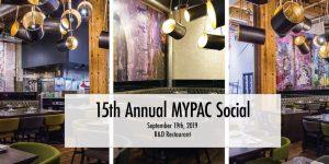 15th Annual MYPAC Social @ R&D Restaurant